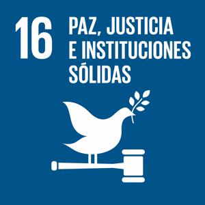 16. Paz, Justicia e Instituciones Sólidas